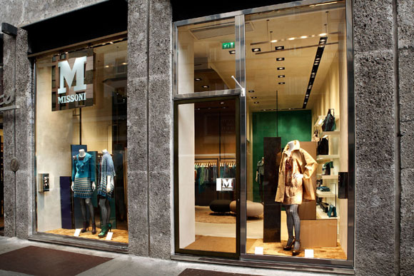 M Missoni pop-up store