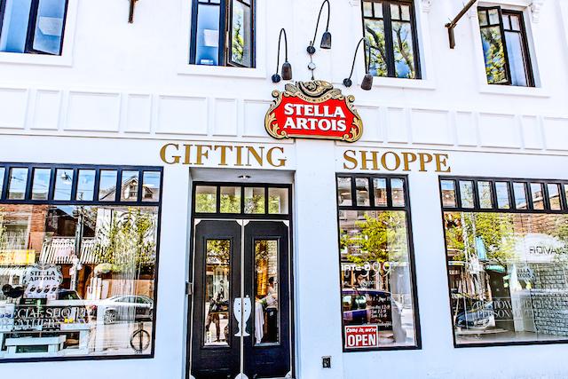 Stella Artois Gifting shoppe pop-up