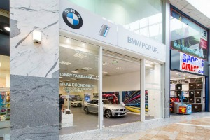 BMW pop-up store