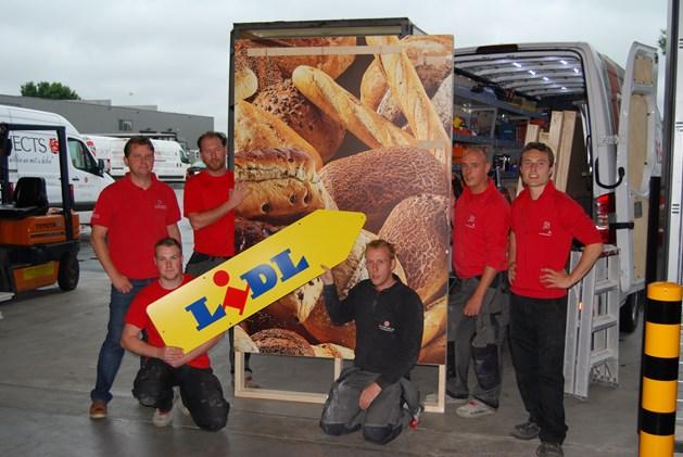 Groep F&S bouwt pop-up voor Lidl op Tomorrowland
