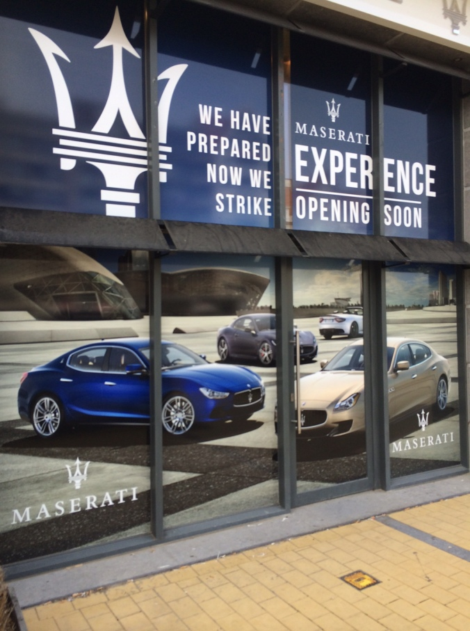 Maserati coming soon