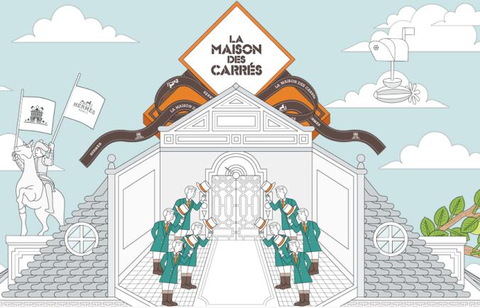 La Maison des carres Hermes