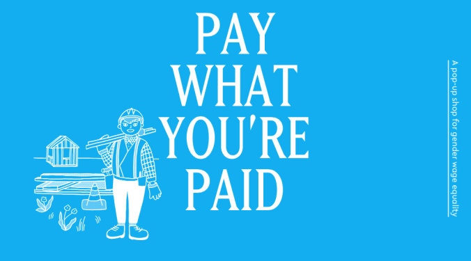 Pay what you're paid pop-up