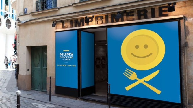 Ikea pop-up Paris