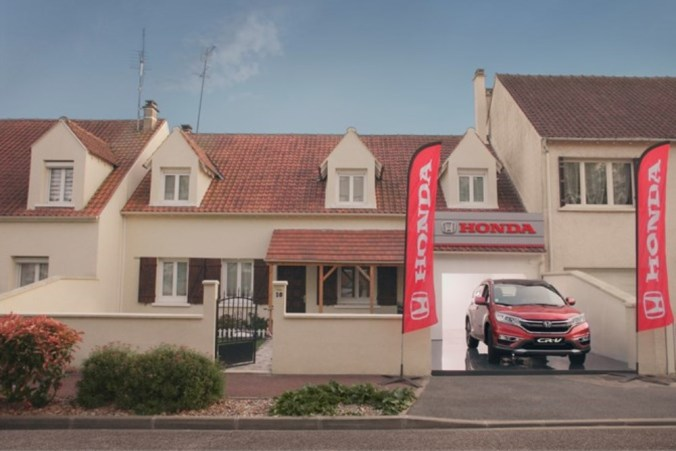 Campagne Honda Next Door 2017